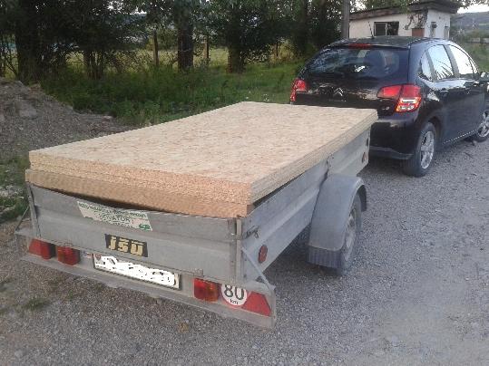 Aké auto použiť na prepravu osb dosiek
