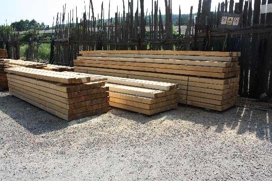Drevené hranoly 10 x 10