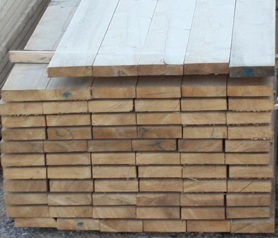 Predaj stavebného dreva - fošne