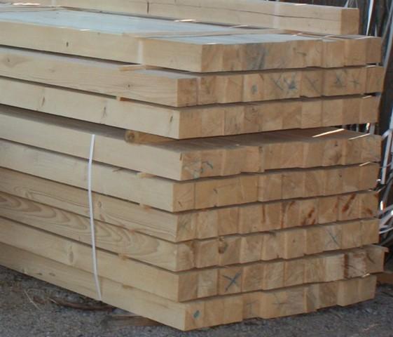 Predaj stavebného dreva - hranoly