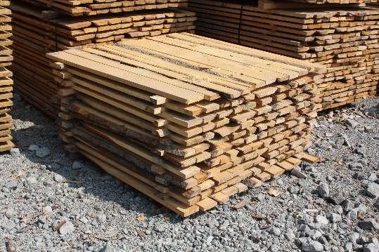 Okrajové drevené dosky 2 a 3 metrové