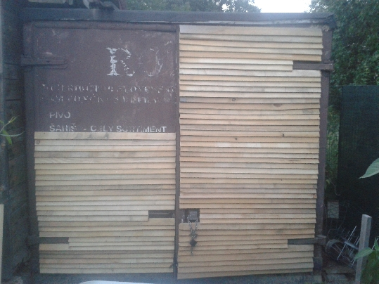 Rekonštrukcia starých dverí
