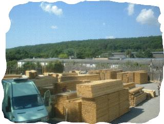 Stavebné rezivo, osb dosky, brikety, palivové drevo - veľkoobchod.